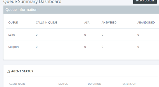 Call Center Multi-Queue-Real-Time-Dashboard