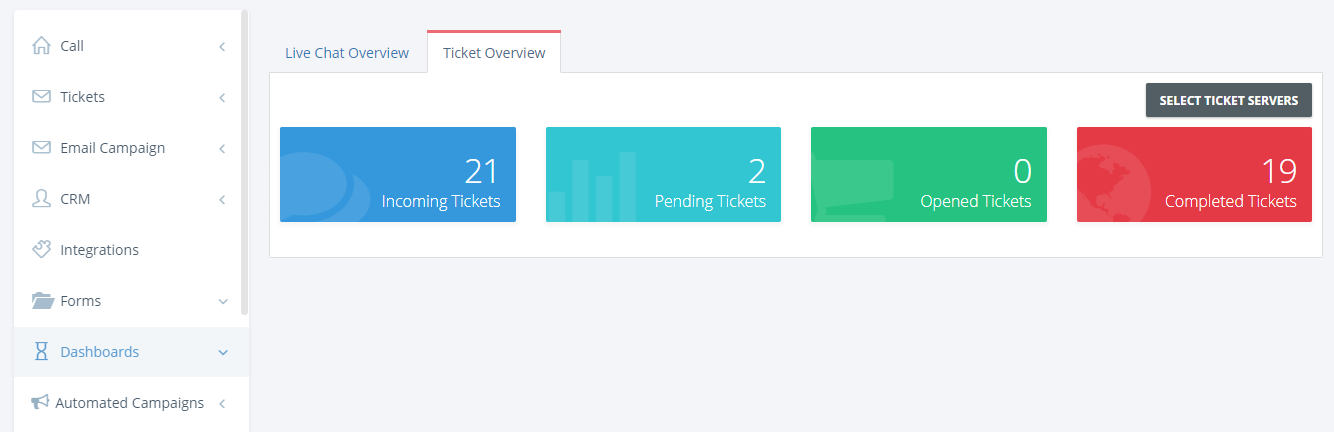 Nectar Desk Dashboards
