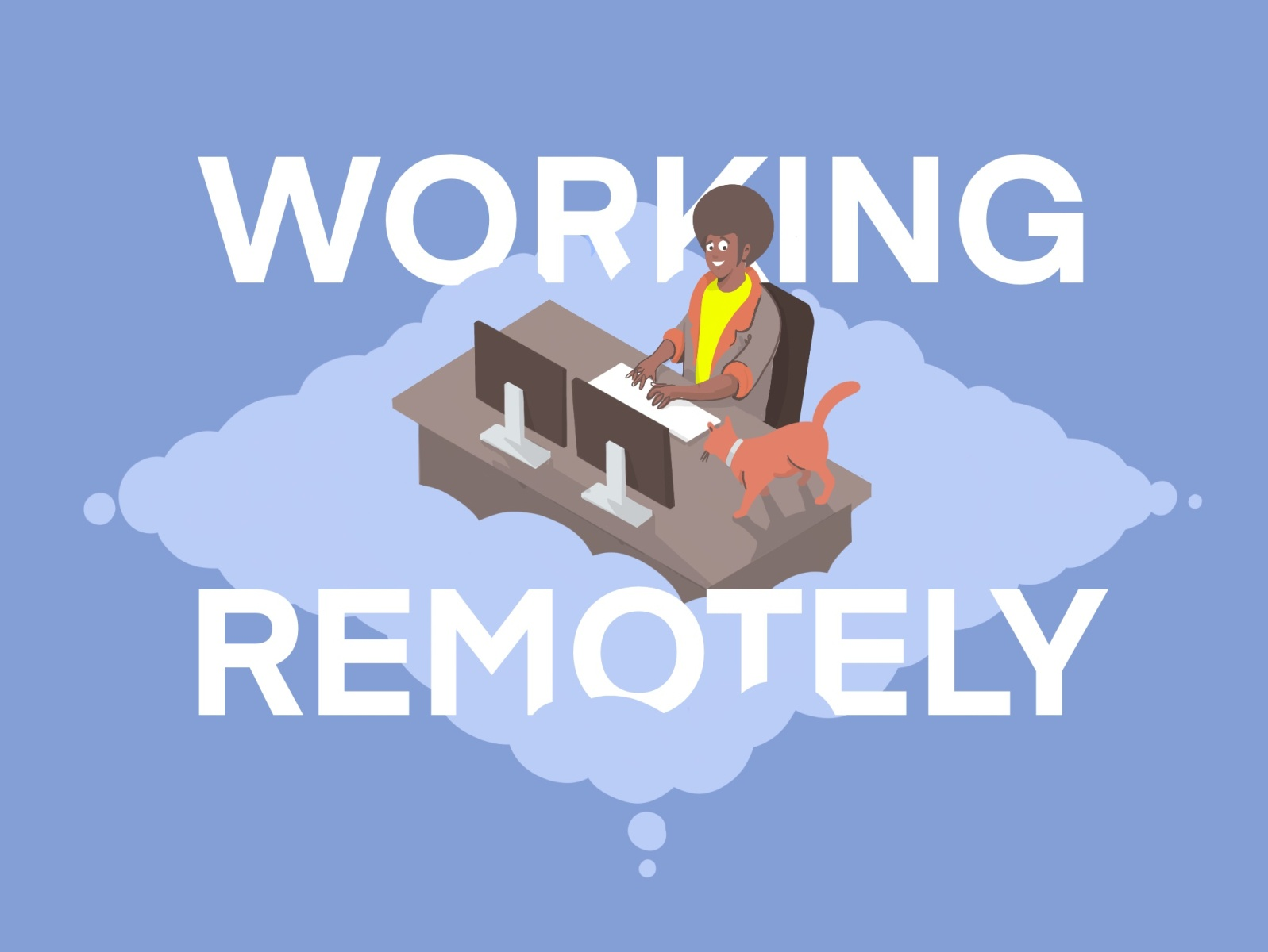 Working Remotely by Brian J Russell